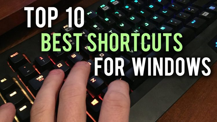 Top 10 keyboard shortcuts everyone must know